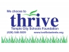 thrive sign 1 color